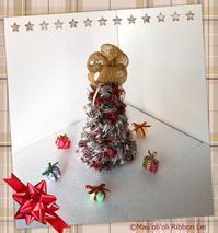 クリスマスツリー - *マウオリオリ* リボンレイ~Happy♪ Joyful♪ Thankful !!