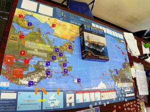 2019.11.04(月振休)YSGA11月例会の様子その2...(Compass)Blue Water Navy ブルー・ウォーター・ネイビー - YSGA(横浜シミュレーションゲーム協会) 例会報告