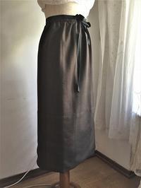 ウールロングエプロン26 または巻きスカートHold(Tomiz11.7) - スペイン・バルセロナ・アンティーク gyu's shop