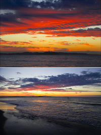 2019/11/08(FRI) 朝焼けの海辺でした。 - SURF RESEARCH