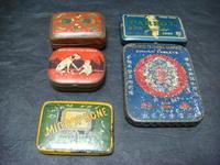 アンティーク蓄音機の針のブリキ缶 - アンティーク(骨董) テンナイン