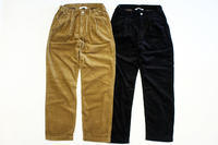 MANUAL ALPHABET (マニュアル アルファベット)CORDUROY WIDE TROUSERS - two things & think Blog