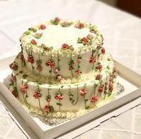 ウェディングのケーキ作り - 福岡のフランス菓子教室  ガトー・ド・ミナコ  2
