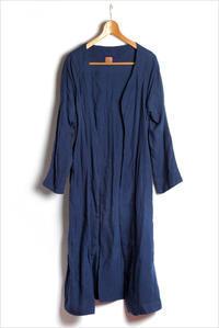 総手縫いのフランスリネンのローブコート - nazunaニッキ