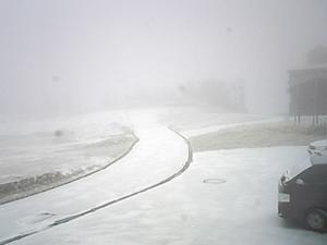 2019年11月10日 朝の志賀高原周辺の様子 - スノーボードが大好きっ!!~ snow life in 2019/2020~