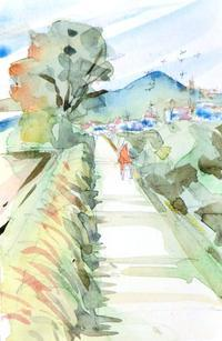 境川の土手は春の陽気 - ryuuの手習い