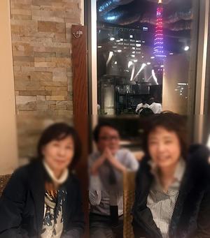 カシワギ&オムちゃんとハレカイズでごはん♪サバサバ女子への反論は? - Isao Watanabeの'Spice of Life'.