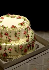 ウェディングケーキができるまで - 福岡のフランス菓子教室  ガトー・ド・ミナコ  2