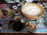 美味しいお昼ご飯/哲平さんユミさんの工房で。 - 器ギャラリー あ・でゅまん