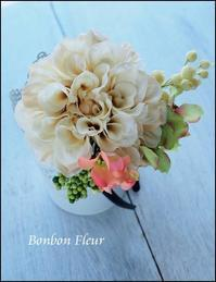 セミオーダー七五三用カチューシャ - Bonbon Fleur ~ Jours heureux  コサージュ&和装髪飾りボンボン・フルール