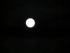 ++満月の夜*++ - 私の暮らし*私のおうち*2