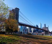 ニューヨークの紅葉とブルックリン・ブリッジ - ニューヨークの遊び方