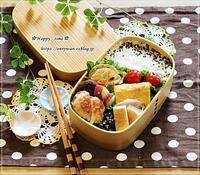 椎茸つくね弁当とスィートポテト♪ - ☆Happy time☆