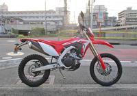 F田サン号 NewマシンのCRF450Lをチョイ仕様変更が完了~~ヽ(^。^)ノ - バイクパーツ買取・販売&バイクバッテリーのフロントロウ!