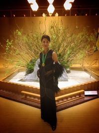 日本開催第10回シャンパーニュ騎士団叙任式 晩餐会へ@オークラ東京♬ - 八巻多鶴子が贈る 華麗なるジュエリー・デイズ