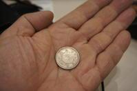 大正12年の6g銀貨を、購入しましたabou 500 yen - 秋葉原・銀座 PHOTO by ari_back