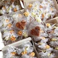 ウェディングのプチギフトやケーキなどの反響 - 福岡のフランス菓子教室  ガトー・ド・ミナコ  2