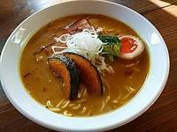 """ブチうま!!カレーラーメン"""" - 八ヶ岳 サムズ キッチン"""
