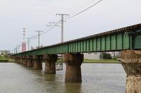 新潟の115系を撮りに行くその12越後線信濃川橋りょうで撮影2019.08.27 - こちら運転担当配車係2