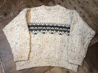 11月16日(土)入荷!MADE IN IRELAND L.L Bean all wool sweater!! - ショウザンビル mecca BLOG!!