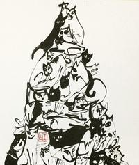 ♩雪は降る…      「M」 - 筆文字・商業書道・今日の一文字・書画作品<札幌描き屋工山>
