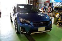 青いスバル車にVIPER330V取り付け - ピットサービス拳2