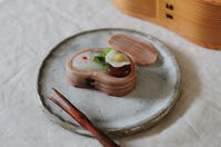 お弁当の和菓子 - Chamomile 季節のおやつと日々のこと