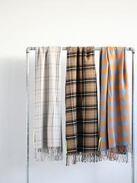 loomermPima Cotton Alpaca Flannel Stole - 『Bumpkins putting on airs』