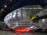 """""""美しい!「夜のヌボラ♪」@コンベンションセンター """" ~ と、悪天候のイタリア! ~ - 『ROMA』ローマ在住 ベンチヴェンガKasumiROMAの「ふぉとぶろぐ♪ 」"""