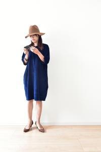 コーデュロイのワンピースを製作中です♬ - 親子お揃いコーデ服omusubi-five(オムスビファイブ)