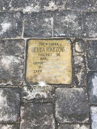 躓きの石とニコラス・ウィントン氏の像ビロード革命30周年記念旅行(5) - 本日の中・東欧