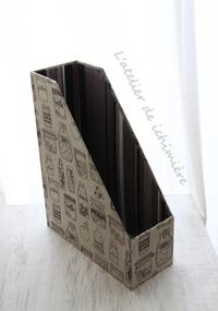 ファイルBOX・お薬手帳カバー<Nov.15part1> - ichimiereカルトナージュと手づくりの時間