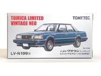 トミーテック・LV-N199b トヨタクラウン 3.0ロイヤルサルーンG 85年式(紺) - 燃やせないごみ研究所