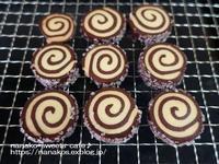 チョコのくるくるクッキー - nanako*sweets-cafe♪
