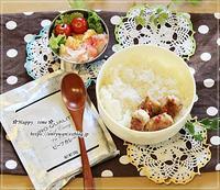 忙しいときはカレー弁当とクリスマスリース♪ - ☆Happy time☆
