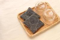 まん丸刺し子のコースター、オーダー分のご紹介です☆ - キラキラのある日々