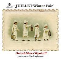 【予告】JUILLET Wpoint fair!!! - JUILLET