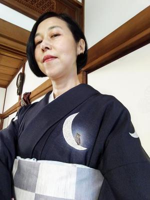 先週は着物ウィーク - 作家・佐伯香也子のブログ