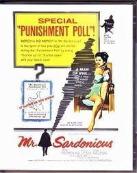「Mr. Sardonicus」(1962) - なかざわひでゆき の毎日が映画三昧