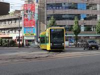 藤田八束の鉄道写真@鹿児島市内を走る路面電車はいろいなラッピングが面白い、街の雰囲気を変える路面電車のデザインに注目 - 藤田八束の日記