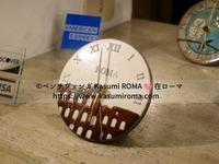 """""""ろーまらしい!「置時計・掛け時計」やはりとてもかわいいよ♪""""~ @里帰りおみやげ探し♪㊻ """" ~ - 『ROMA』ローマ在住 ベンチヴェンガKasumiROMAの「ふぉとぶろぐ♪ 」"""