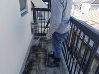 渋谷区栄和HSマンション防水工事開始。 - 一場の写真 / 足立区リフォーム館・頑張る会社ブログ