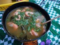 パラー州の郷土料理その1.痺れる葉っぱ入りのスープ、タカカ Tacacá - kimcafeのB級グルメ旅