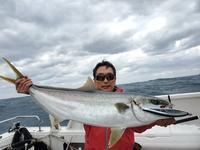 ヒラマサ キャスティング ジギング秋マサGet - 五島列島 遊漁船 MANA 釣果情報 ヒラマサ キャスティング ジギング