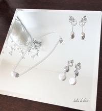 定型パターンしっとり輝くパール使いアクセサリー6 - salon de douce