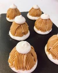モンブラン - 調布の小さな手作りお菓子教室 アトリエタルトタタン