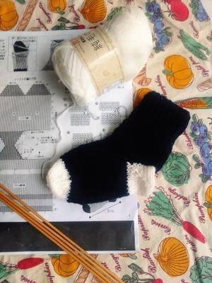 編み物 -