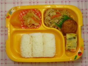 今日の献立 - 株式会社 幼稚園給食          船橋工場 今日の給食