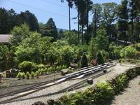 素敵な庭園で鉄道模型を楽しむガーデンレイルウェイ・カフェ。 - 子どもと暮らしと鉄道と