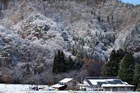 みちのく初雪の里山 - みちのくの大自然